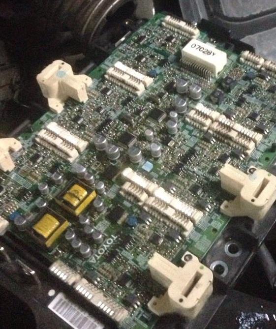ИСМ плата инвертора Lexus RX 400h, G92A0-48080