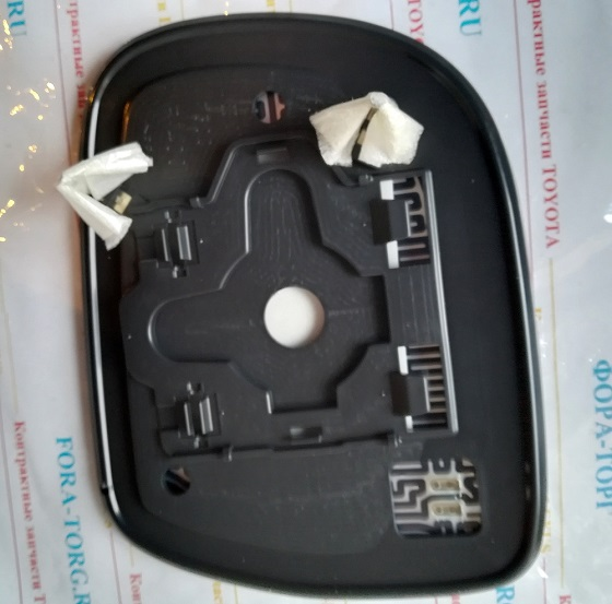 Зеркальный элемент правый Lexus RX300 RX330 RX350 RX400