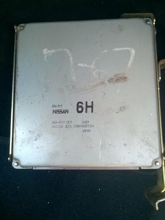 ЭБУ ДВС Nissan X-trail Ниссан Х-трейл, до рестайл 2,0л. механика, 4 WD